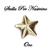 Stella Micro per Nastrini Oro Art.S-ORO