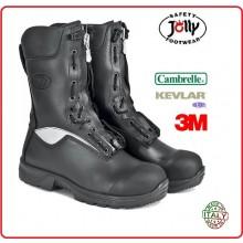Anfibio Scarponcino Stivaletto Scarpone Specilguard Vigili del Fuoco Guarda ai Fuochi Jolly Italia Cambrelle Art.9052/A-C