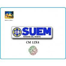 Patch Toppa con Velcro 118 SUEM Regione del Veneto  Art.118-SUEM