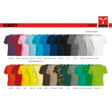 T-shirt Girocollo Manica Corta SUNSET Payper Vari Colori Jersey 150gr Art.SUNSET