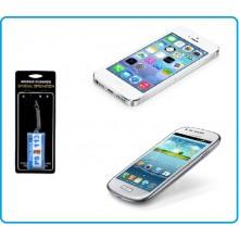 Laccetto per Pulizia dello Schermo Telefono Samsung IPone 5 4 Motorola Nokia Android  Polizia di Stato Art.Eumar.PS