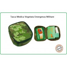 Tasca Medica Vegetata Kit First Aid 1 Kit Primo Soccorso Vegetato Art.01404
