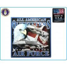 Targa Metallo da Collezione U.S. AIR FORCE  Art.415151-2402