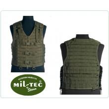 Gilè Gilet Tattico Sistema M.O.L.L.E OD Verde Militare Venatoria Guarda Caccia MILTEC Art.13461001