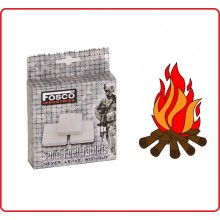 Tavolette Combustibile per Fornello Fornelletto da Campo Portatile 8 pezzi Solid Fuel Tablets FOSCO Art.311033