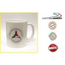 Tazza in Ceramica Mug Protezione Civile Nazionale  Art.TAZ-PCN