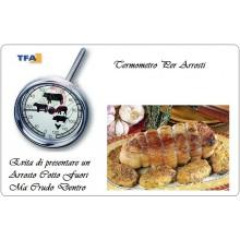 Termometro Arrosti Professionale Cuoco Chef Cucina TEA Art.TF 14.1002.6090