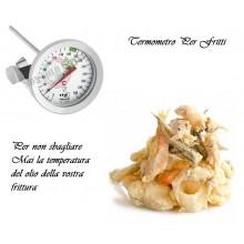 Termometro per Fritti - Grassi +20  + 300  Cuoco Chef Professionale TEA Art.TF 14.1024