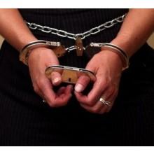 Manette Handcuffs per Pollici Acciaio Professionali Carabinieri Polizia GDF Penitenziaria Art.29503