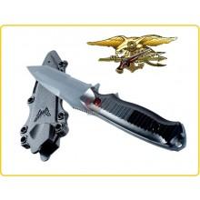 Replica Plastica Coltello Assalto Militare Omologato per il Gioco Soft Nevu Seal  Plastic knife Dummy Air Art.455490