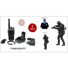 Ricetrasmittente Radio Walkie Talkie TwinTalker 9500 Airsoft Edition TOPCOM PT-1116 SWAT Editions Art.464263