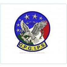 Patch Toppa in Canottiglia G.P.G. I.P.S. Guardia Particolare Giurata Inacricato di Pubblico Servizio  Art.NSD-01