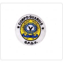Toppa Patch con Velcro A.E.O.P. Ass Europea Operatori di Polizia Nuova CORPO GUARDIE G.P.G.V.  Art.GPGV