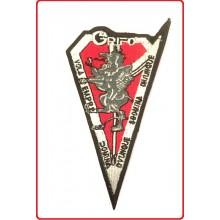 Toppa Patch con Velcro Ricamata Paracadutisti GRIFO Vola Sempre Domina Ovunque  Art.IT-GRIFI