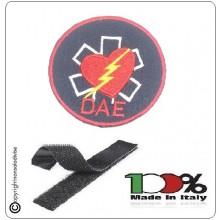 Toppa Patch con Velcro solo Logo  DAE  Art.DAE-LAMPO-2