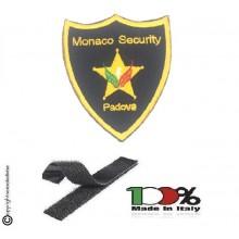 Scudetto Patch Toppa con Velcro Monaco Security Esclusiva per MS Art. MS-2