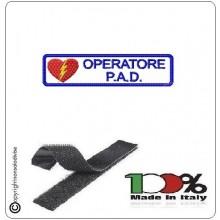 Patch con Velcro Operatore P.A.D. Art.PAD-1