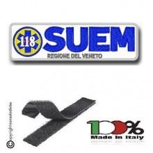 Patch Toppa con Velcro 118 SUEM Regione del Veneto  Art. 118-SUEM