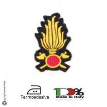 Patch Toppa Termoadesiva Vigili Del Fuoco VVFF 115 Art.NSD-115V