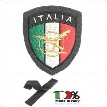 Patch Toppa Scudetto con Velcro Ricamato ITALIA + LOGO Guardia di Finanza A.T.P.I. Art.IT-ATPI