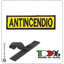 Patch Toppa con Velcro ANTINCENDIO Modello Lineare Art.VVFF-A