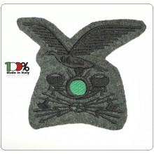 Fregio Ricamato a Macchina per Cappello Alpino TRASMISSIONI Art.ALPI-2