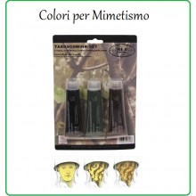 Trucco Colori Mimetismo Militare Esercito Soft Air Caccia Art.27369