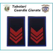 Tubolari Bordo Azzurro GPG - GPGIPS - PL Appuntato  Art.NSD-GPGAP
