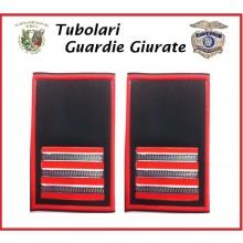 Tubolari Bordo Rosso GPG - GPGIPS - PL Maresciallo Ordinario Aiutante Art.GPG-T8