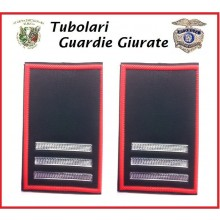 Tubolari Bordo Rosso GPG - GPGIPS - PL Maresciallo Ordinario Capo  Art.GPG-T7