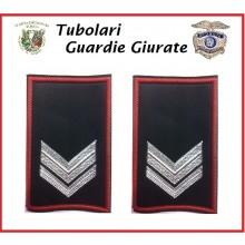 Tubolari Bordo Rosso GPG - GPGIPS - PL Vice Brigadiere Art.GPG-T2