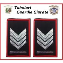 Tubolari Bordo Rosso GPG - GPGIPS - PL Brigadiere Capo  Art.GPG-T4