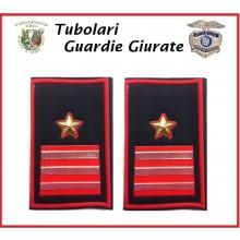 Tubolari Bordo Rosso GPG - GPGIPS - PL Maresciallo Logotenete Art.GPG-T9
