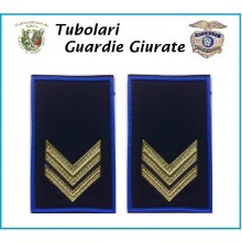 Tubolari Bordo Azzurro GPG - GPGIPS - PL Vice Brigadiere Art.NSD-GPGVB