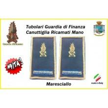 Gradi Tubolari Guardia di Finanza Ricamati Canuttiglia New Maresciallo Art.GDF-T25