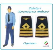 Gradi Tubolari Canuttiglia Ricamato Capitano Aeronautica Militare Novità Ruolo Naviganti Categoria Naviganti  Art.AERO-16