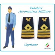 Gradi Tubolari Canuttiglia Ricamato Capitano Aeronautica Militare Novità Ruolo delle Armi Art.AERO-17