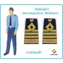 Gradi Tubolari Canuttiglia Ricamato Colonello Aeronautica Militare Novità Ruolo delle Armi Art.AERO-15