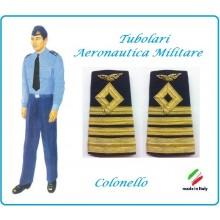 Gradi Tubolari Canuttiglia Ricamato Colonello Aeronautica Militare Novità Ruolo Naviganti Categoria Naviganti  Art.AERO-14