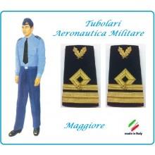 Gradi Tubolari Canuttiglia Ricamato Maggiore Aeronautica Militare Novità Art.AERO-18