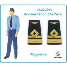 Gradi Tubolari Canuttiglia Ricamato Maggiore Aeronautica Militare Novità Ruolo Naviganti Categoria Naviganti  Art.AERO-19