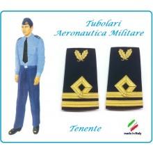 Gradi Tubolari Canuttiglia Ricamato Tenente Aeronautica Militare Novità Ruolo delle Armi Art.AERO-10