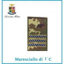 Gradi Tubolarini Vegetati Aeronautica Militare Maresciallo 1 Classe  Art.TUB-A-4