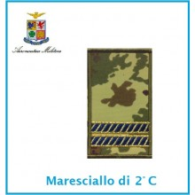 Gradi Tubolarini Vegetati Aeronautica Militare Maresciallo 2 Classe  Art.TUB-A-5
