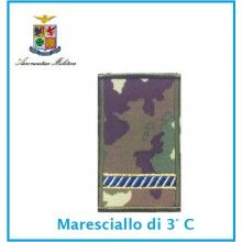 Gradi Tubolarini Vegetati Aeronautica Militare Maresciallo 3 Classe  Art.TUB-A-6