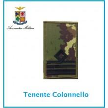 Gradi Tubolarini Vegetati Aeronautica Militare Tenente Colonello  Art.TUB-A-14