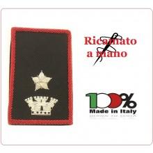 Gradi Tubolari Carabinieri Ricamati a Mano Canuttiglia New Maggiore Art.CC-CAN-17