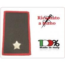 Gradi Tubolari Carabinieri Ricamati a Mano Canuttiglia New Sottotenente Art.CC-CAN-14