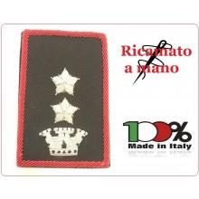 Gradi Tubolari Carabinieri Ricamati a Mano Canuttiglia New Tenente Colonnello Art.CC-CAN-18