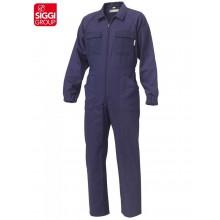 Tuta Meccanico Giardiniere Colore Blu Siggi New Extra Abbigliamento Professionale Art.14TU0260